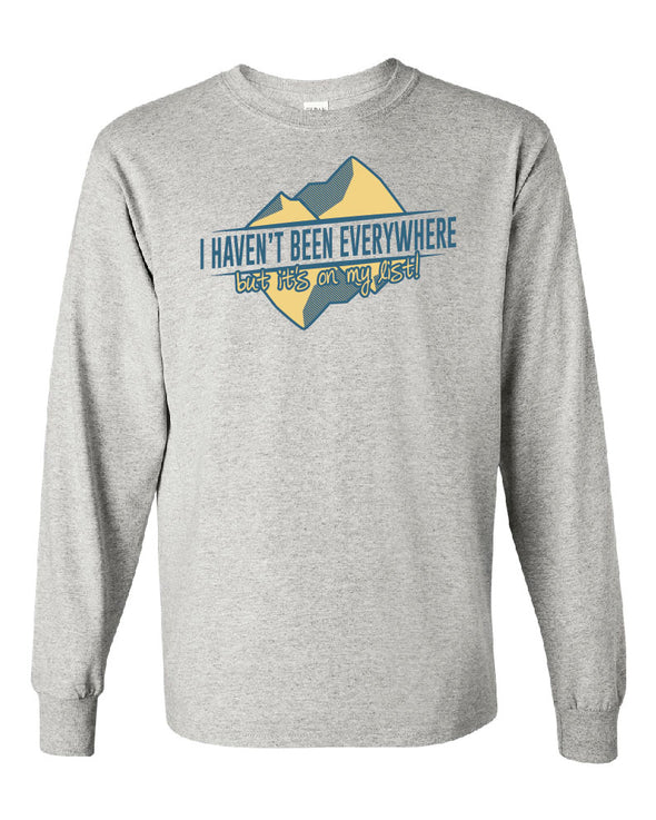 Mrs. Mahannah's Travel Long Sleeve T-Shirt