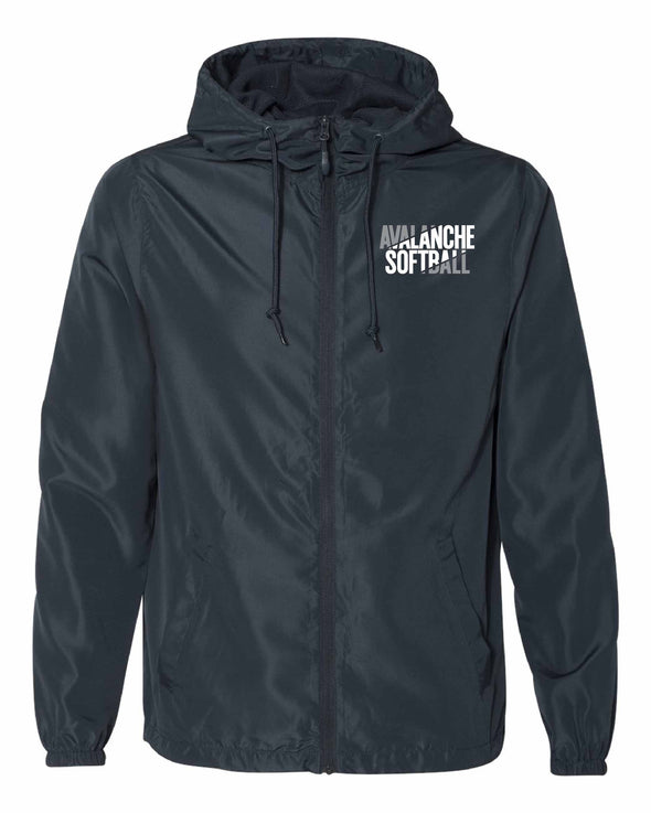 Bloomington Avalanche Windbreaker-Embroidered