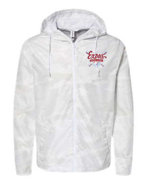 Central Illinois Expos Windbreaker-Embroidered
