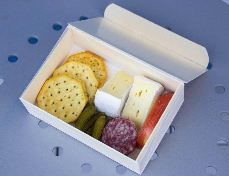 """4"""" X 6"""" SMALL RECTANGLE COLLAPSIBLE BOX WITH ATTACHED LID"""