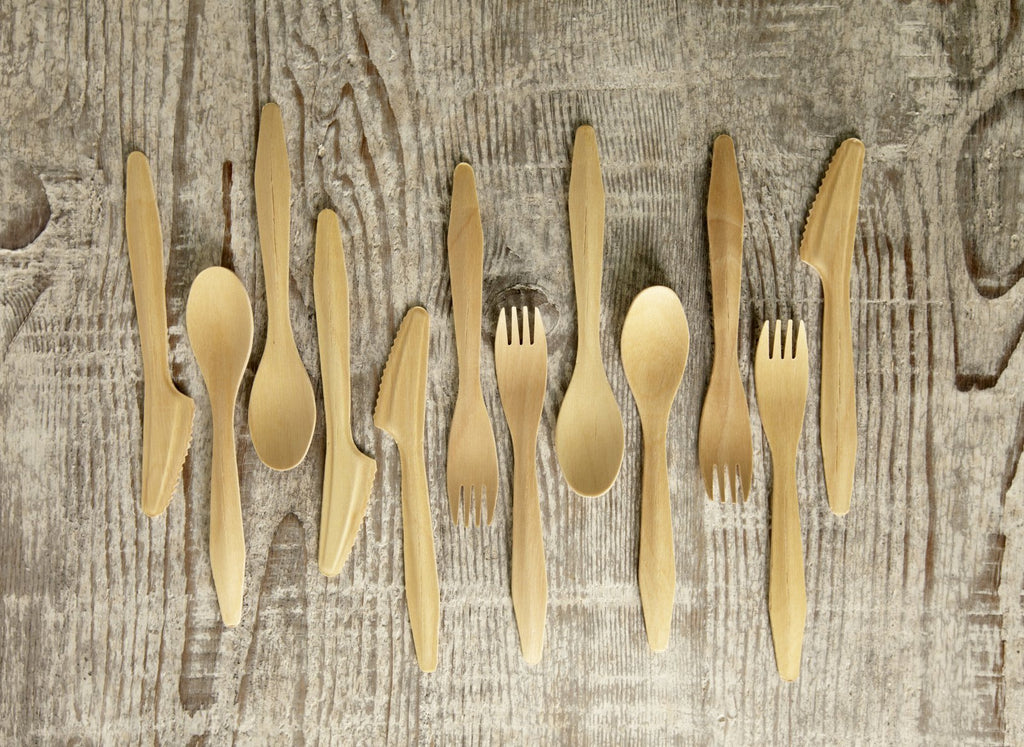 Degradable Cutlery Made From Fallen Palm Leaves