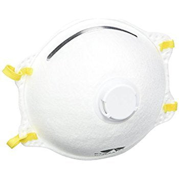 N95 Particulate Respirator With Value and Metal Nosepiece (10 COUNT)