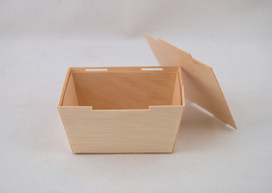 "3"" x 4"" Petite To-Go Box (10 count Retail Pack)"