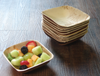 "5"" x 5"" Square Palm Leaf Bowls (25 count Retail Pack)-VerTerra Dinnerware"