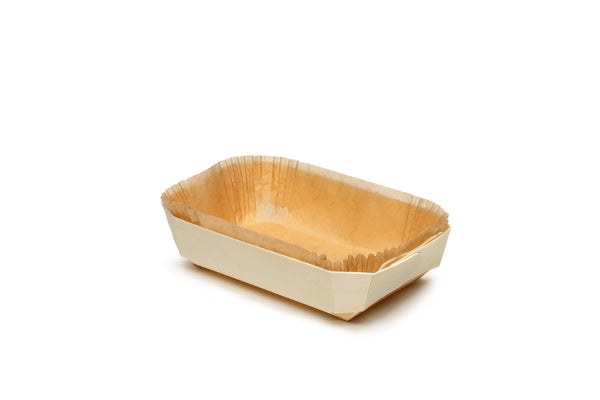 Wooden Baking Pan Disposable Loaf Pan Verterra