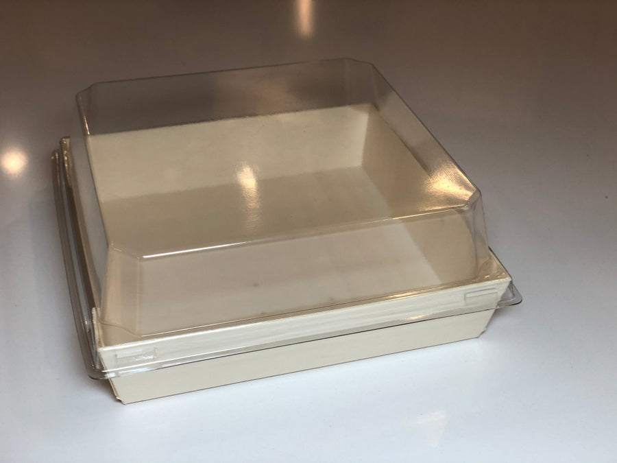 "4.6"" X 4.6"" Covered Tray (10 Count)"