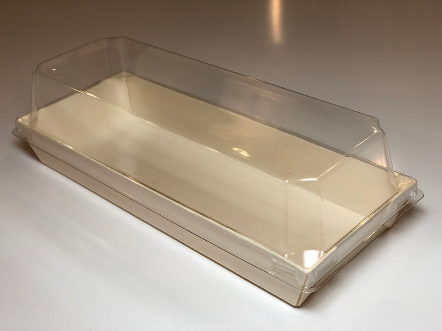 "9.8"" X 3"" Covered Tray (10 Count)"