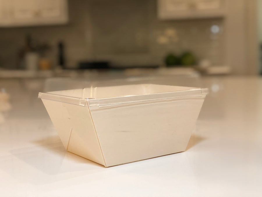 "6""X8"" Deep Covered Tray (10 Count)"
