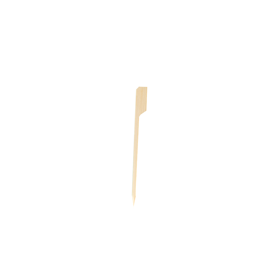 "Eco² ® 4"" Bamboo Paddle Pick (100 Count)"