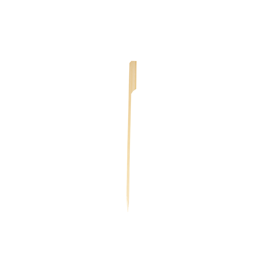 "Eco² ® 7"" Bamboo Paddle Pick (100 Count)"