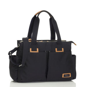 Storksak Travel Shoulder bag Black changing Bag | Shoulder bag | Storksak - Award-winning Baby Changing Bags & Accessories