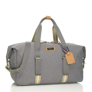 Storksak Travel Duffle Grey hospital bag | Maternity hospital bag | Storksak - Award-winning Baby Changing Bags & Accessories