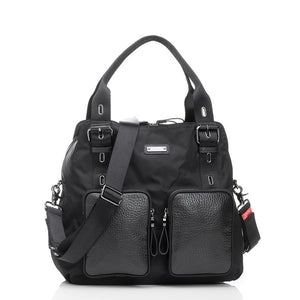 Alexa luxe black Baby Changing Bag | shoulder bag Changing Bag | Storksak – Award-winning Baby Changing Bags & Accessories