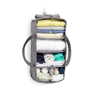 Hanging Organiser Grey Baby accessories | Storksak Travel Baby accessories | Storksak - Award-winning Baby Changing Bags & Accessories
