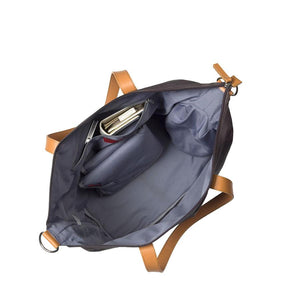 Noa Black Baby Changing Bag internal | shoulder Changing Bag | Storksak – Award-winning Baby Changing Bags & Accessories