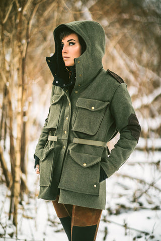 Limited edition Overloard insulated coat