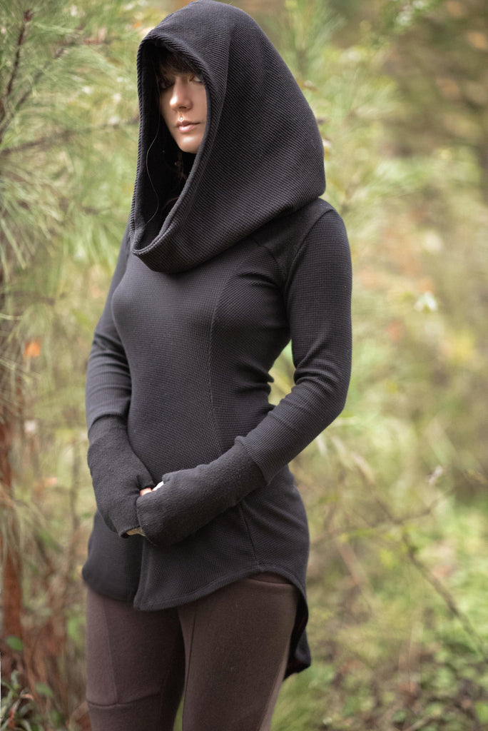 Limited Edition thermal hooded tunic