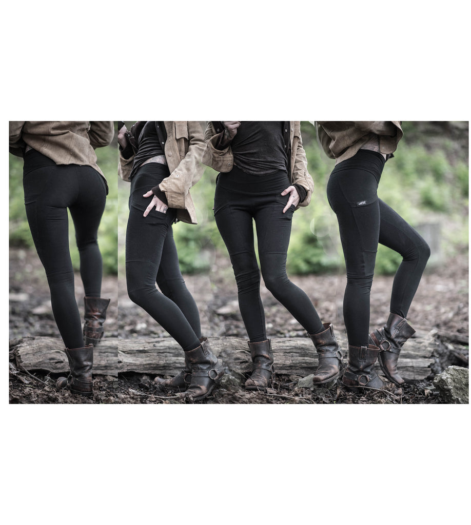 Limited edition hemp/bamboo Lucien Leggings