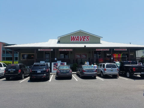Red, White and Gold BBQ Sauces at Waves Grocery Gulf Shores, AL