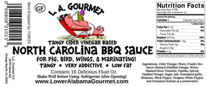 North Carolina BBQ Sauce