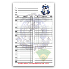 Lineup Card V5 - With Game Notes