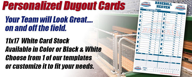 Dugout Cards
