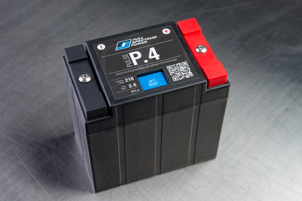 The Pulse IPT battery- this is the best lithium motorcycle battery ever built.