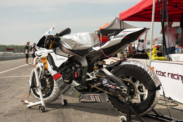 Superbikes in the US: TOBC Racing uses Pulse Batteries in MotoAmerica