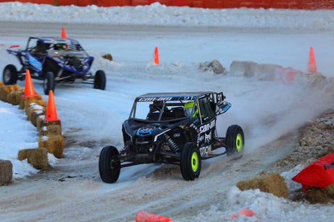 Chaney Can-Am X3 racing at SXS Sports