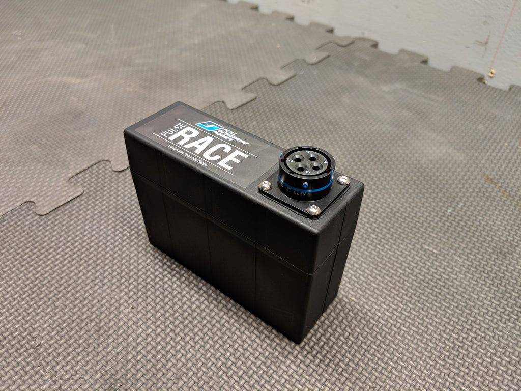 Custom lithium race battery