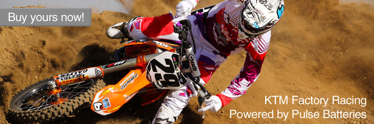 Ryan Dungey uses Full Spectrum Batteries