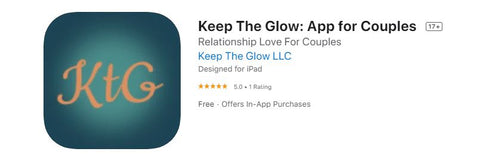 app for couples - Keep the Glow
