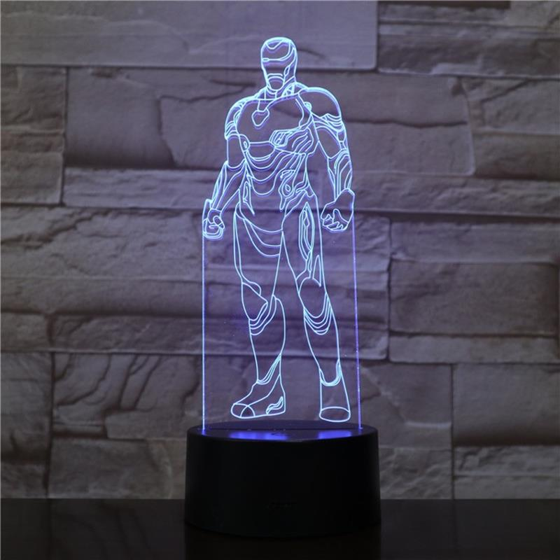 Ironman 3D LED Lamp