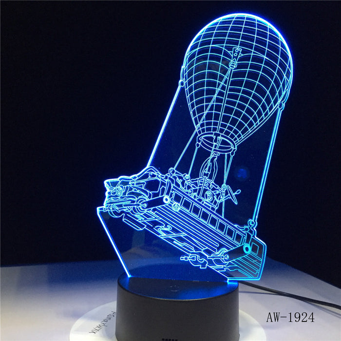 Battle Bus 3D LED Lamp