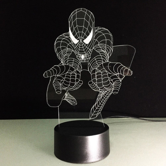 Spiderman 3D LED Lamp