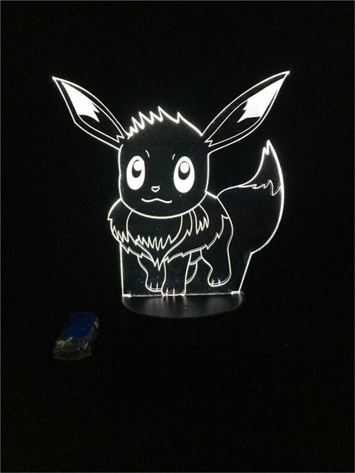 Eevee 3D LED Lamp