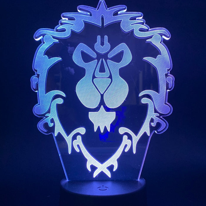 World of Warcraft 3D LED Lamp