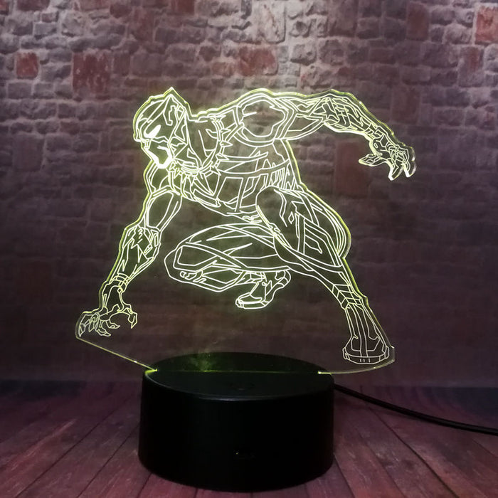 Black Panther 3D LED Lamp