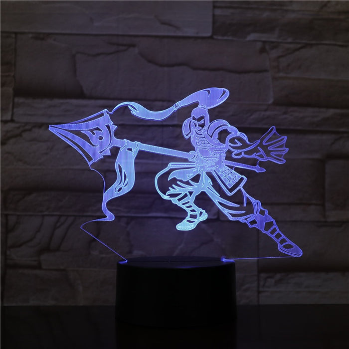 Xin Xhao 3D LED Lamp