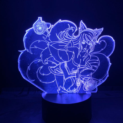 Ahri 3D LED Lamp