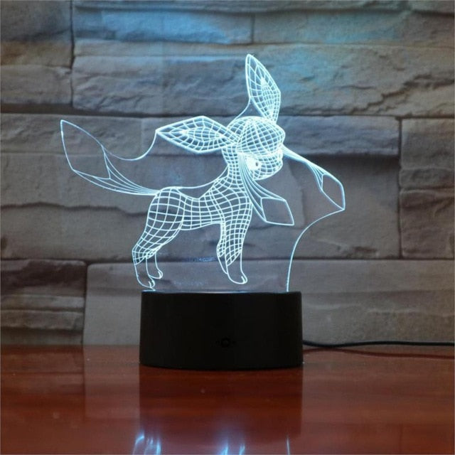 Glaceon 3D LED Lamp