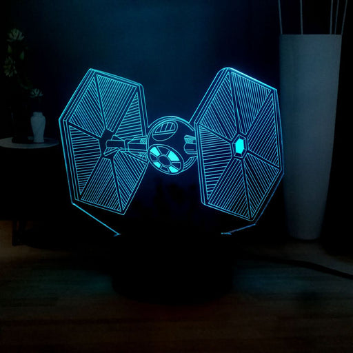 TIE Fighter 3D LED Lamp