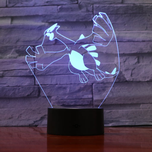 Lugia 3D LED Lamp