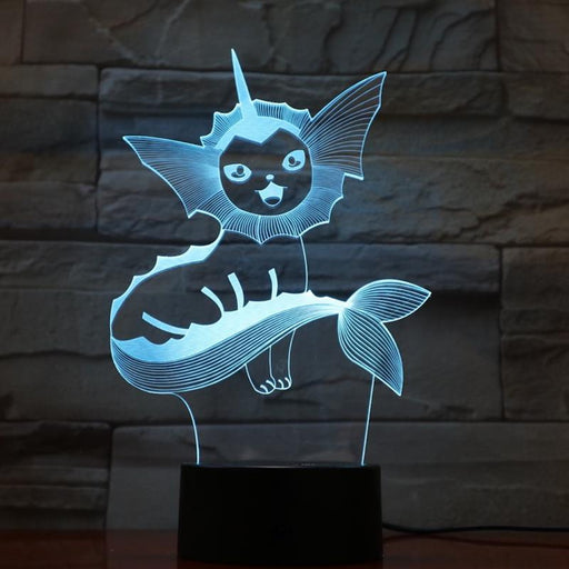 Vaporeon 3D LED Lamp