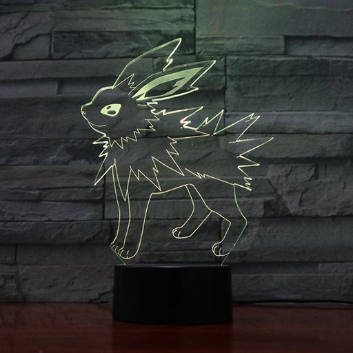 Jolteon 3D LED Lamp