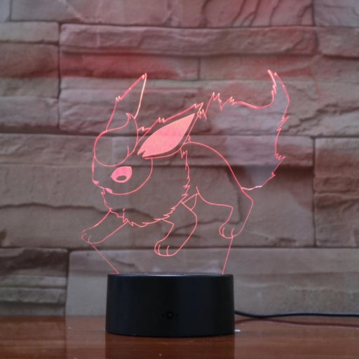 Flareon 3D LED Lamp