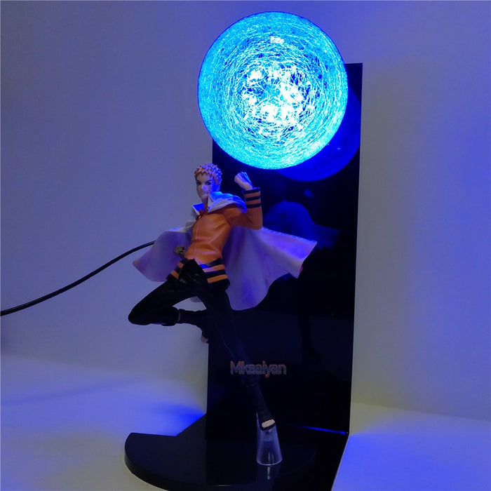 Adult Naruto Rasengan Action Figure Lamp