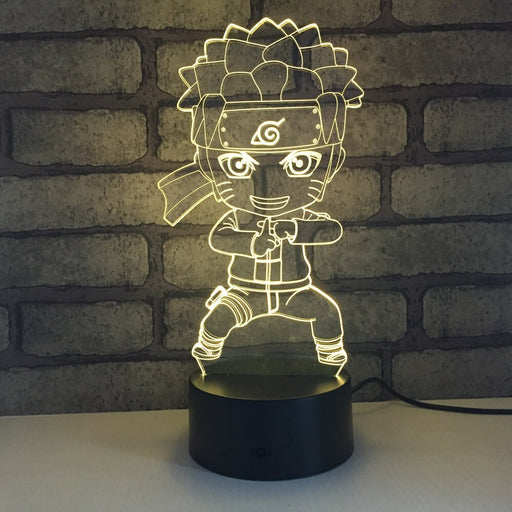 Naruto Shadow Clone 3D LED Lamp