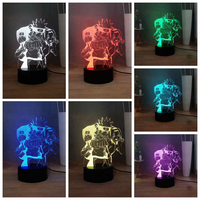 Team 7 3D LED Lamp