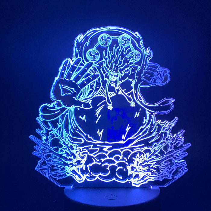 Luffy Fourth Gear 3D LED Lamp